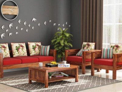 5 Living Room Ideas with Wooden Furniture